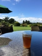 Pimms in sunshine